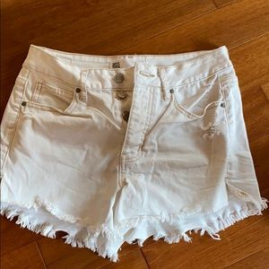 White Tillys RSQ shorts
